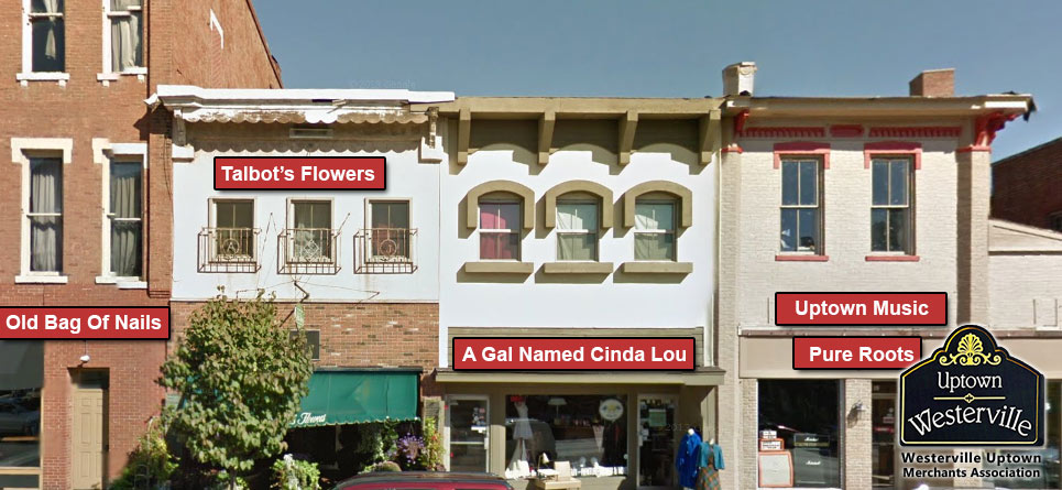 cinda-lou-talbot-flowers-uptown-google-street-view-before-facade-upgrade-2-before