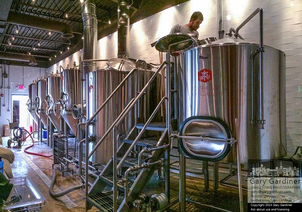 Brewing begins in Uptown