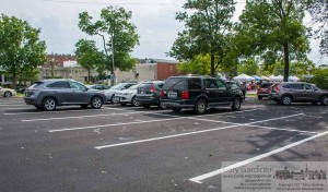 Uptown Westerville Parking Lot Aug. 6, 2014