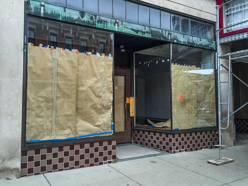 The Front Adjacent To Entrance 8 State Bistro Is Planned Be A Jewelry